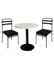 Terrazzo lounge set