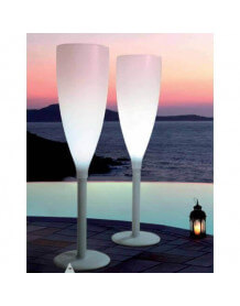 Champagne floorlamp