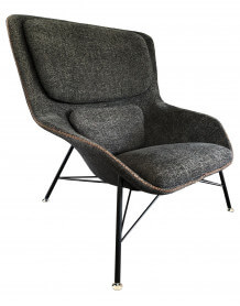 Grey Rockwell Armchair