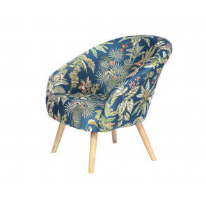 Fauteuil tissus lazare home