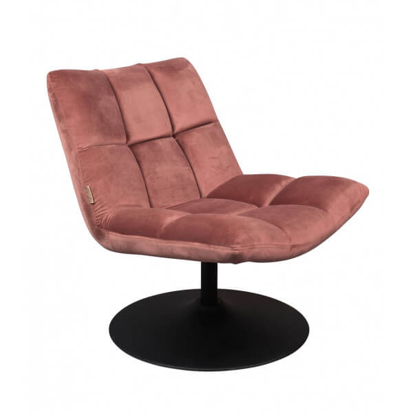 Fauteuil Lounge rose