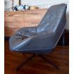 Fauteuil salon confortable gris