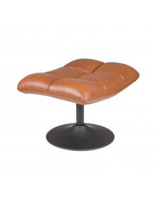 HOCKER BAR VELVET GOLDEN BROWN