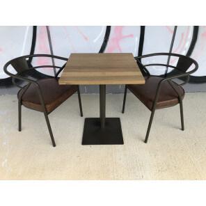 table repas carrée 60 cm