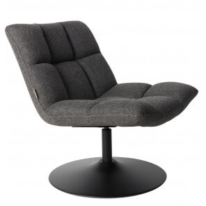 Lounge Chair Bar Dutchbone grey