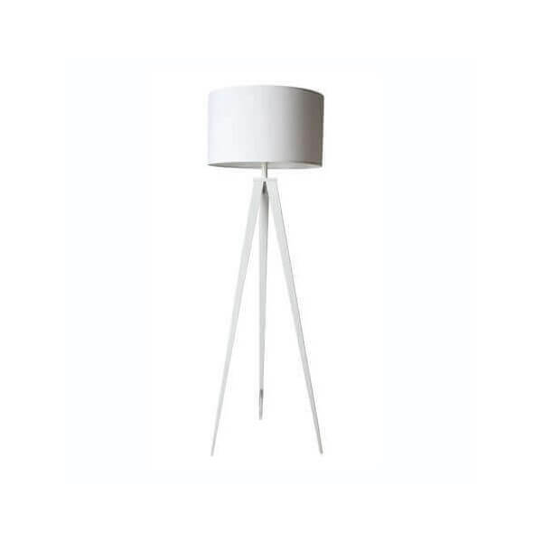 White tripod floorlamp